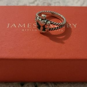 James Avery Ring - Anchor and Heart - Size 8